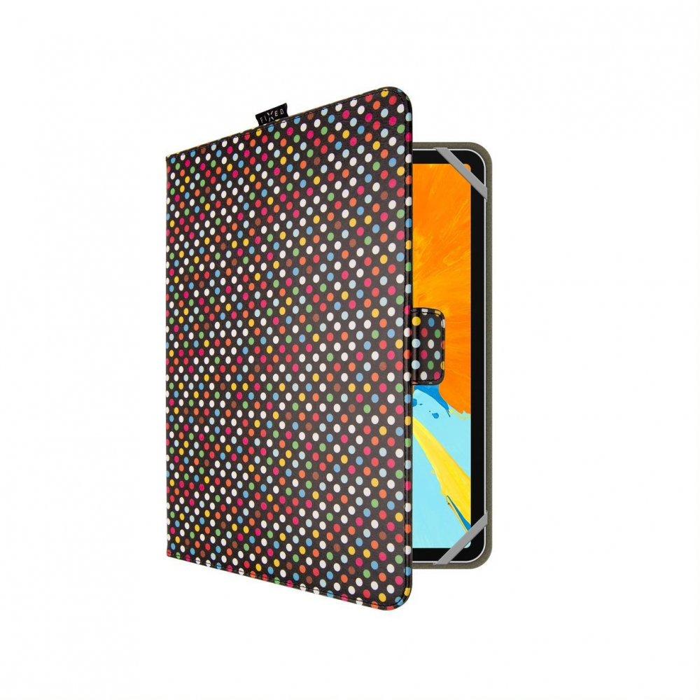 Pouzdro pro 10,1'' tablety FIXED Novel, motiv Dots