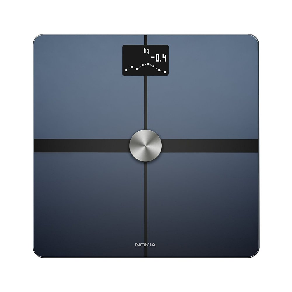 Nokia Body Full Body Composition WiFi Scale  Black