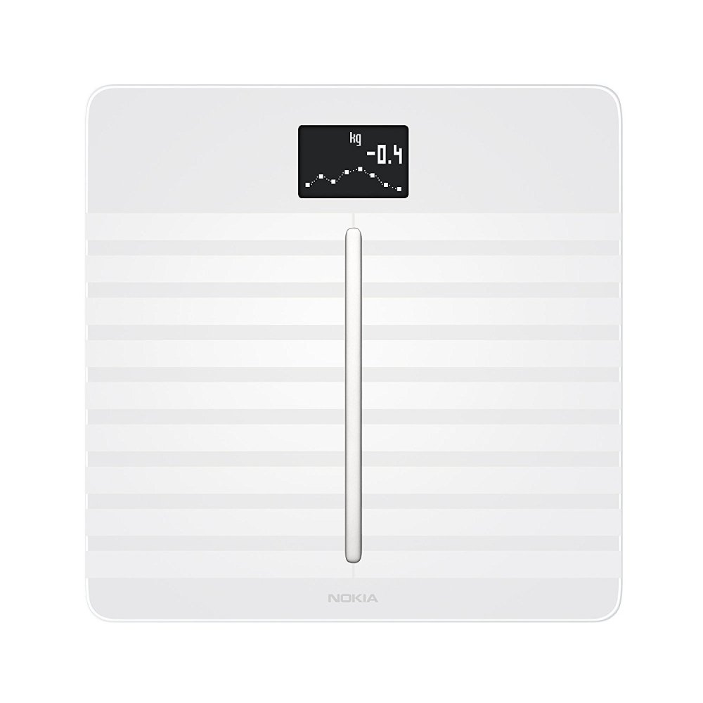 Nokia Body Cardio Full Body Composition WiFi Scale  White