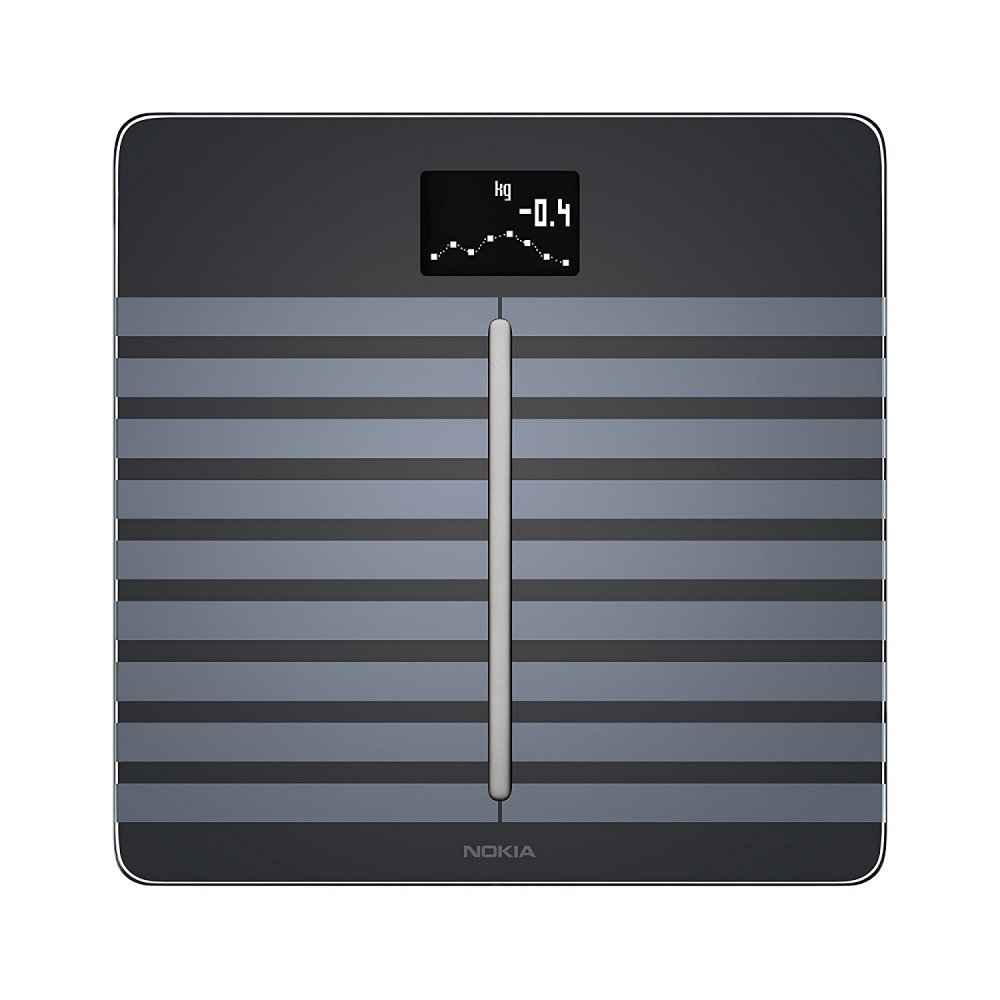 Nokia Body Cardio Full Body Composition WiFi Scale  Black
