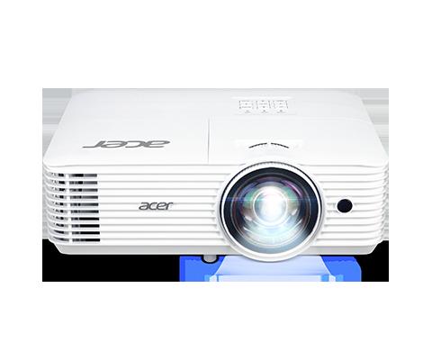Acer DLP H6518STi - 3500Lm, FullHD, 10000:1, HDMI, VGA, WiFi, repro., bílý