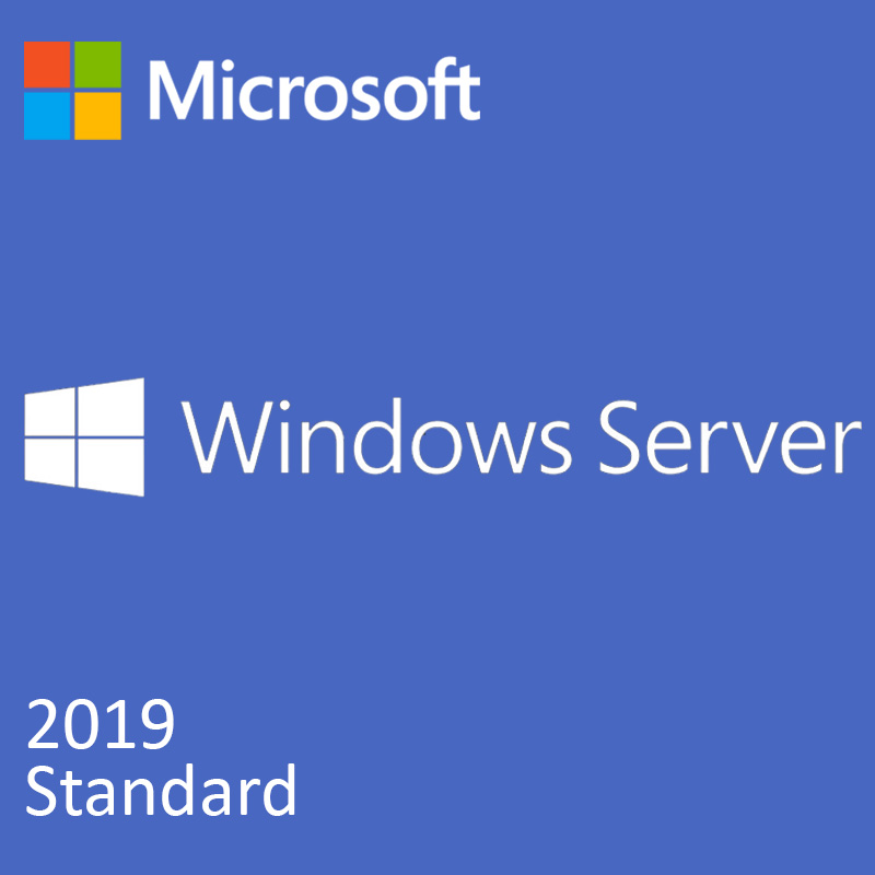 DELL MS Windows Server 2019 Standard DOEM ENG 0 CAL max 16 core 2VMs