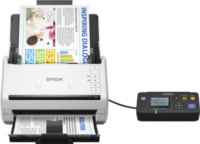 Epson WorkForce DS-530N, A4, 600 dpi, ADF, USB