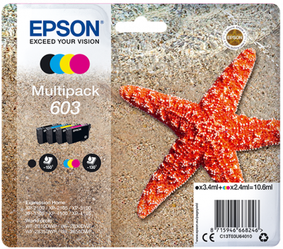 Epson multipack 4colours 603