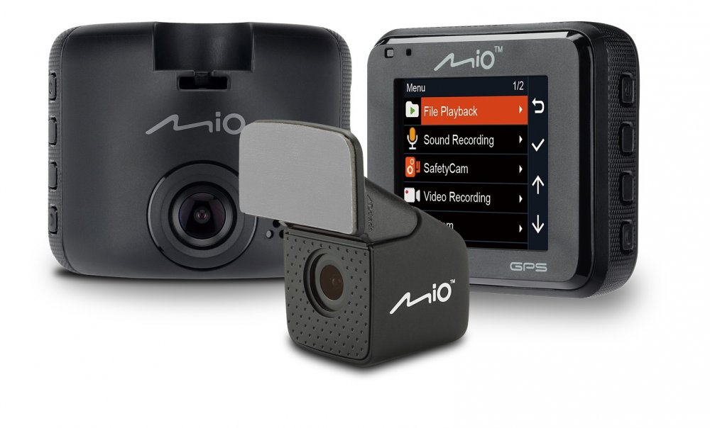 Kamera do auta MIO MiVue C380Dual, 2'' LCD