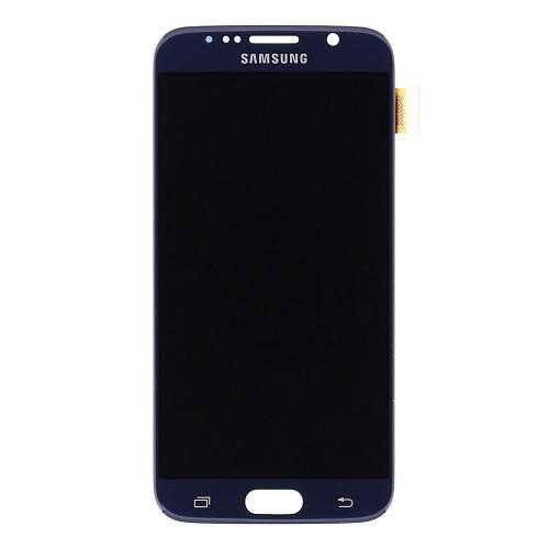 LCD display + Dotyk Samsung G920 Galaxy S6 Black (Service Pack)
