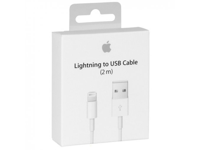 MD819 iPhone 5 Lightning Datový Kabel White
