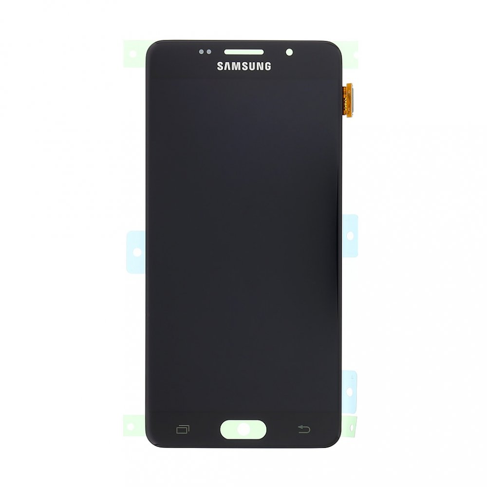 LCD display + Dotyk Samsung A510 Galaxy A5 2016 Black (Service Pack)