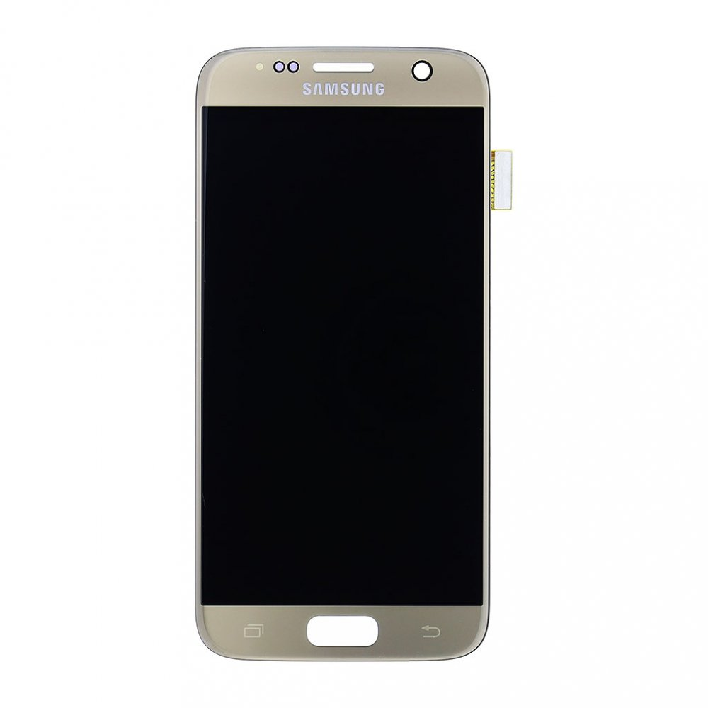LCD display + Dotyk Samsung G930 Galaxy S7 Gold (Service Pack)