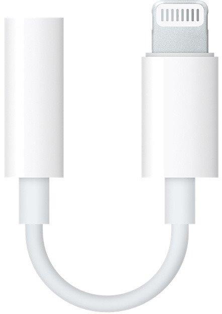 MMX62ZM/A iPhone Lightning/3,5mm Datový Kabel White (Bulk)