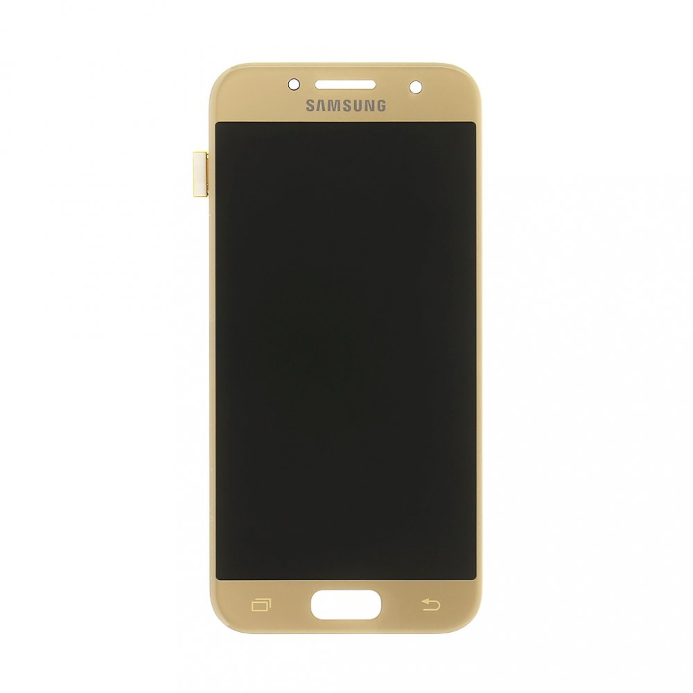 LCD display + Dotyk Samsung A320 Galaxy A3 2017 Gold (Service Pack)