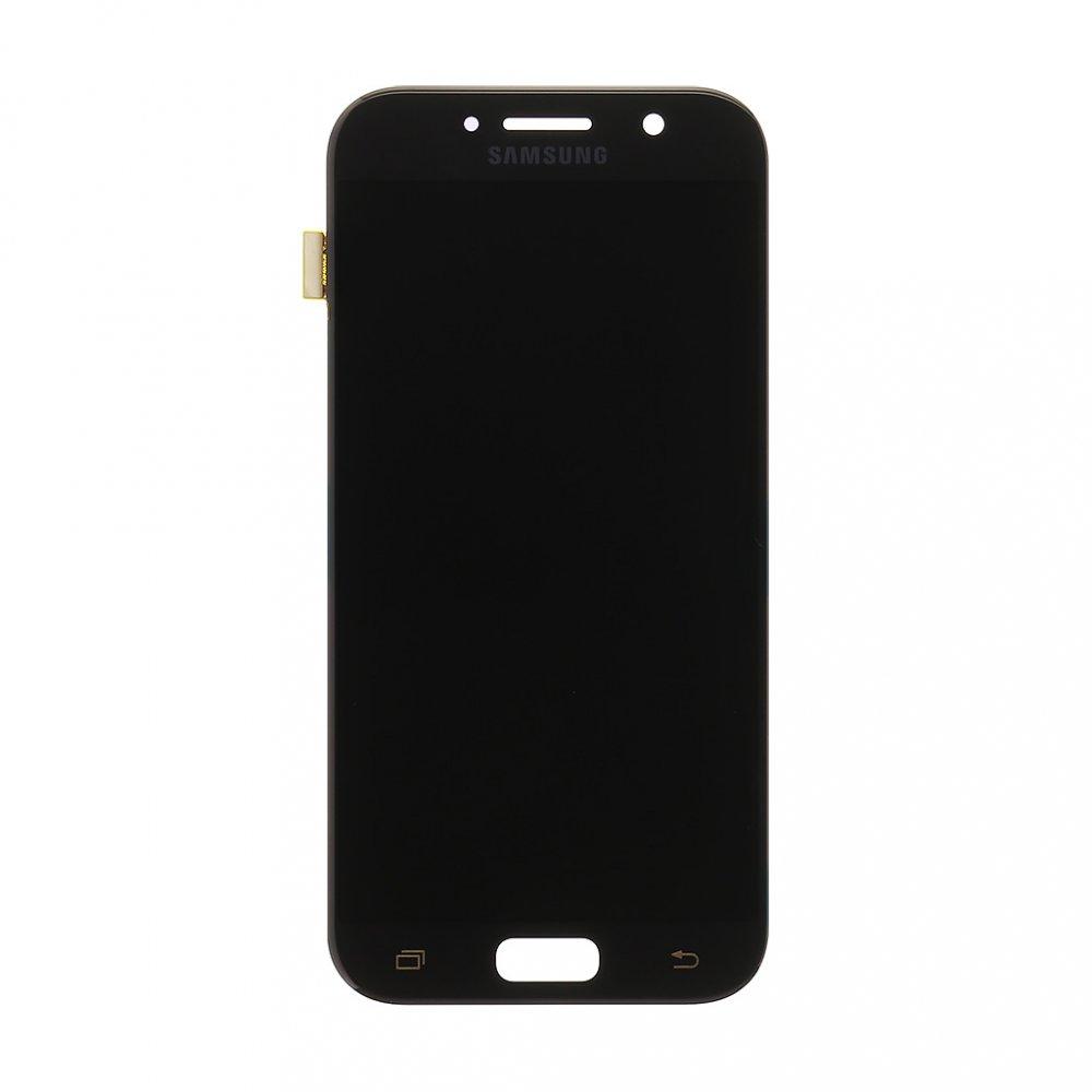 LCD display + Dotyk Samsung A520 Galaxy A5 2017 Black (Service Pack)