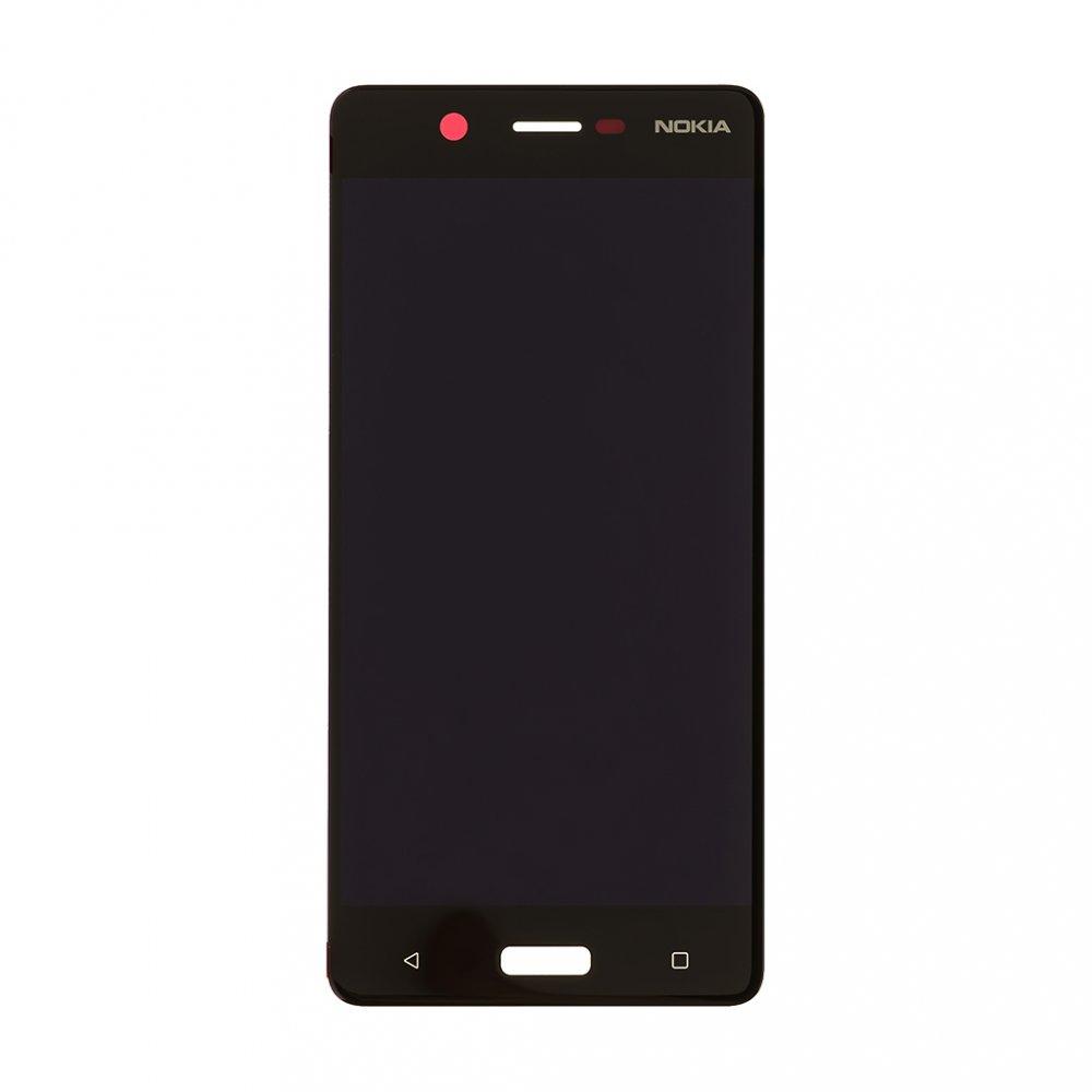 Nokia 5 Dotyková Deska + LCD Display Black