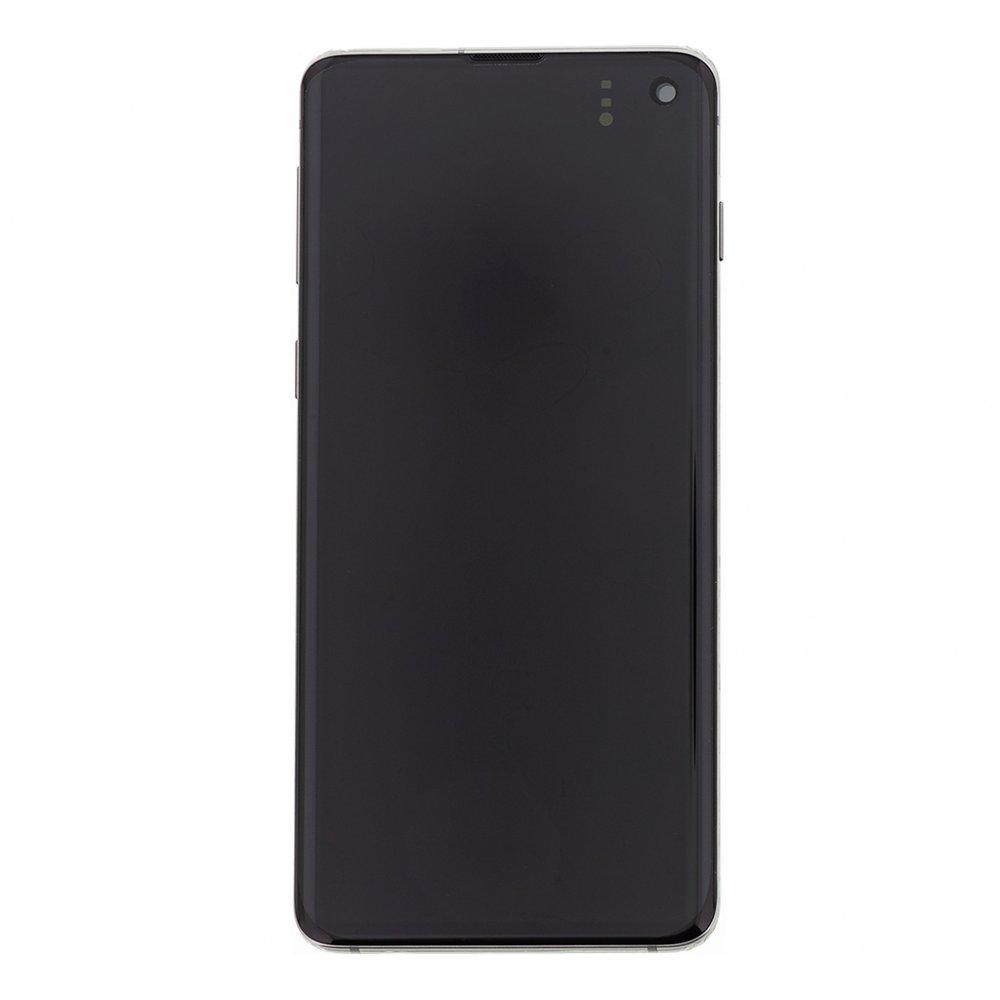 LCD display + Dotyk Samsung G973 Galaxy S10 Black (Service Pack)