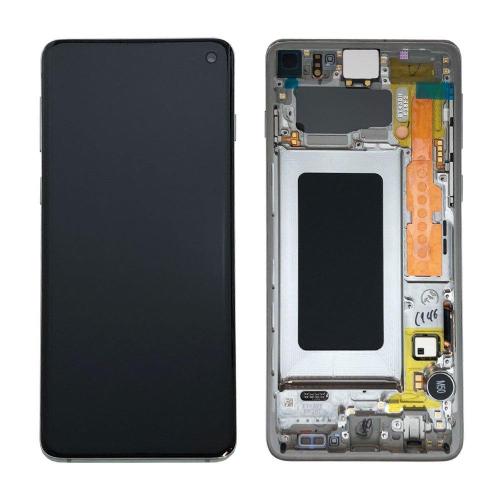 LCD display + Dotyk Samsung G973 Galaxy S10 Blue (Service Pack)