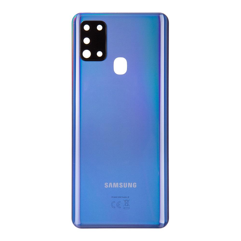 Samsung A217F Galaxy A21s Kryt Baterie Blue (Service Pack)