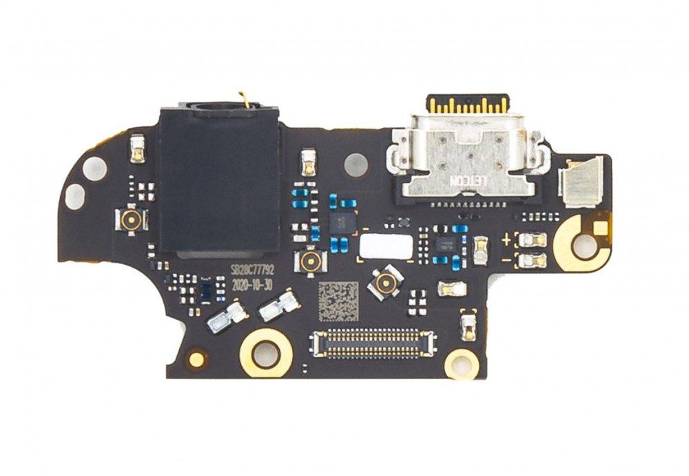 Motorola Moto G 5G Plus Deska vč. Dobíjecího Konektoru (Service Pack)