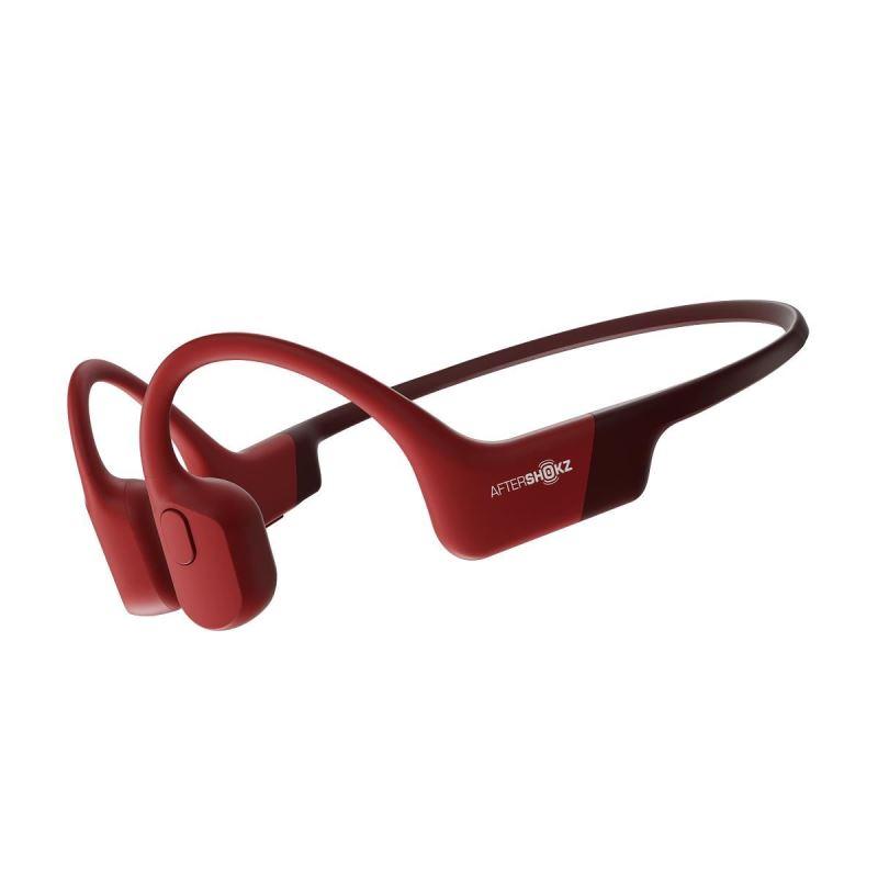 AfterShokz Aeropex, Bluetooth sluchátka před uši, červená