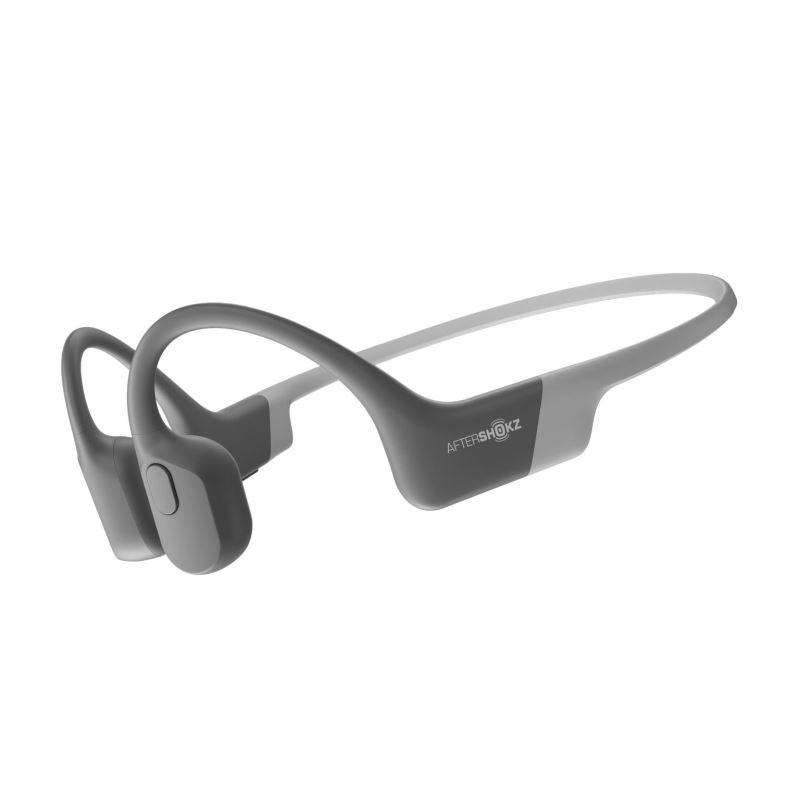AfterShokz Aeropex, Bluetooth sluchátka před uši, šedá