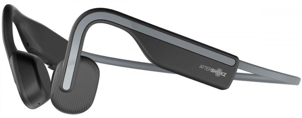 AfterShokz OpenMove, Bluetooth sluchátka před uši, šedá