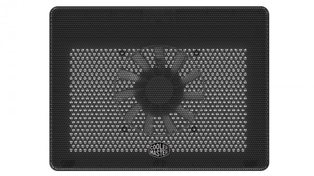 Cooler Master NotePal L2, chladící podložka pod notebook, USB, 160 mm, černá