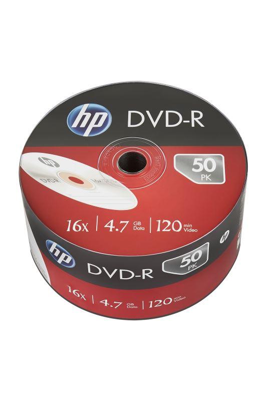 DVD-R HP 4,7 GB (120min) 16x 50-spindle bulk