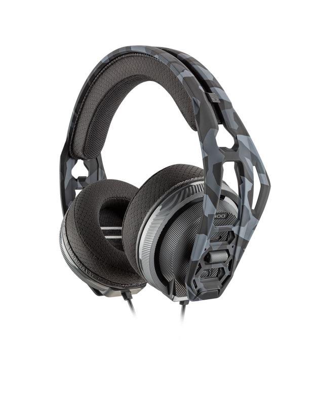 Nacon RIG 400HX, herní headset, 3,5mm jack, pro Xbox One, Xbox series X a PC, Urban Camo