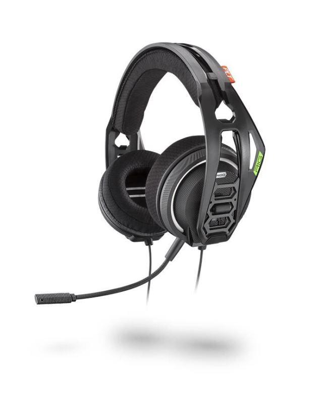 Nacon RIG 400HX ATMOS, herní headset, 3,5mm jack, pro Xbox One, Xbox series X a PC, černá