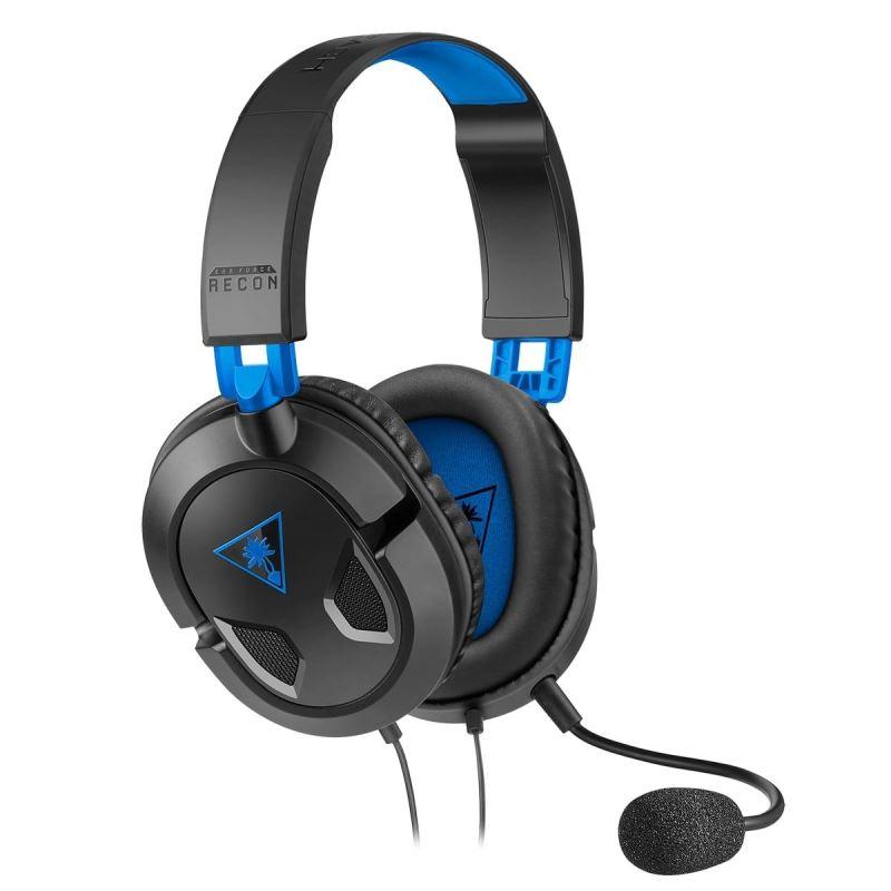 Herní sluchátka Turtle Beach RECON 50P, černá, PS5 (Xbox One, series S/X, PC, Nintendo)