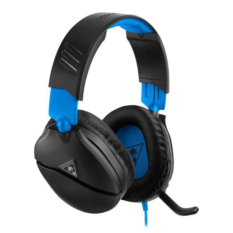 Herní sluchátka Turtle Beach RECON 70P, černá, PS5 (Xbox One/series S/X, Nintendo)