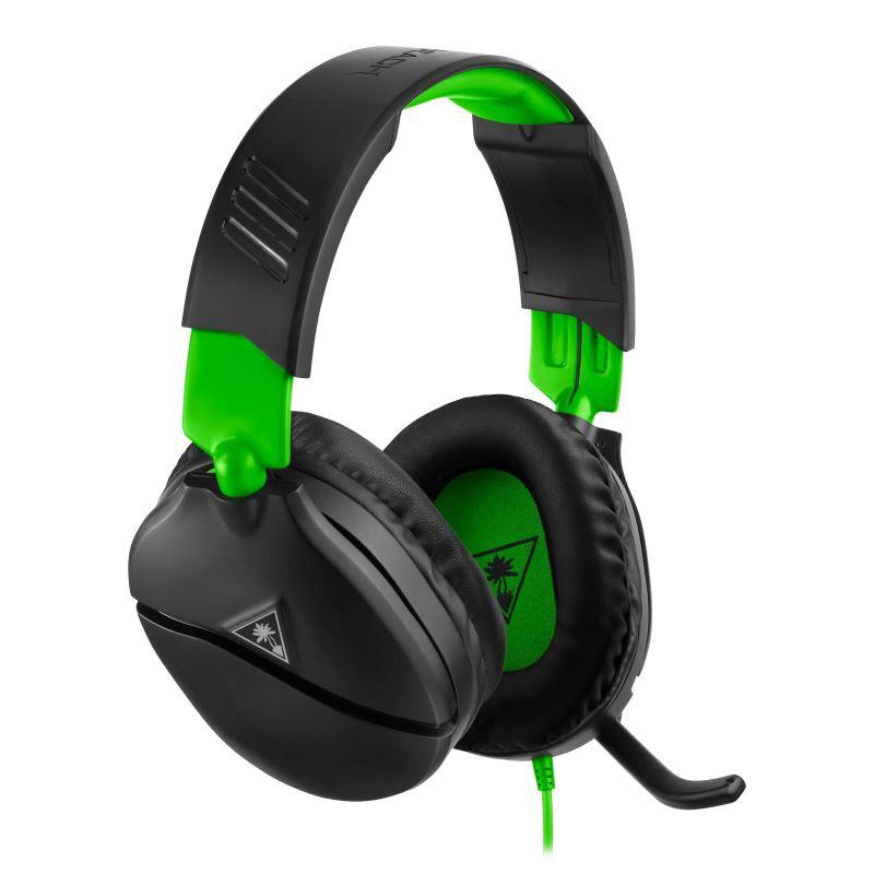 Herní sluchátka Turtle Beach RECON 70X, černá, Xbox One, series S/X (PS5, Nintendo)