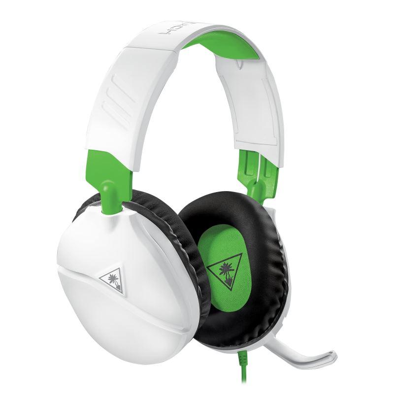 Herní sluchátka Turtle Beach RECON 70X, bílá, Xbox One, series S/X (PS5, Nintendo)