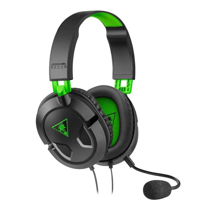 Herní sluchátka Turtle Beach RECON 50X, černá, Xbox One, series S/X (PS5, Nintendo)