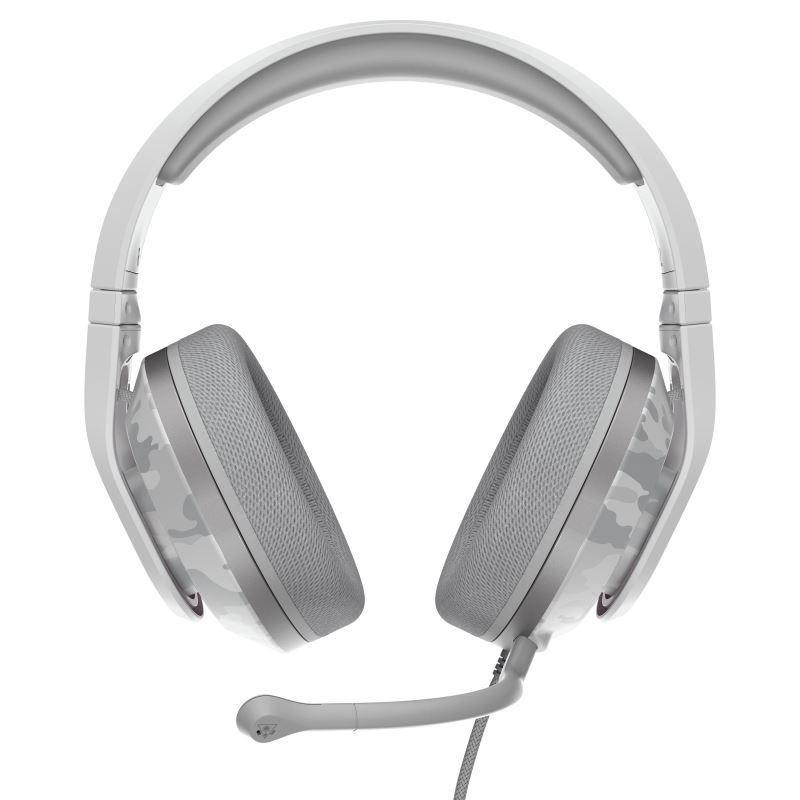 Herní sluchátka Turtle Beach RECON 500 ARTIC CAMO, 3.5mm, PS4/5, Xbox One/series X/S, Nintendo, PC