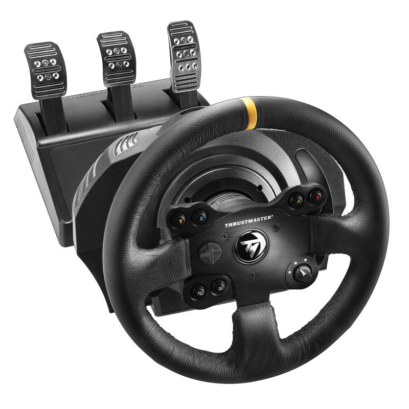 Thrustmaster Sada volantu a pedálů TX Leather Edition pro Xbox One Xbox Series X  a PC (4460133)