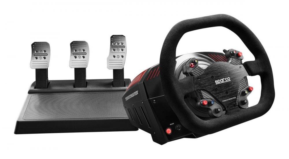 Thrustmaster Sada volantu a pedálů TS-XW Racer - Sparco, pro Xbox One, Xbox Series X a PC (4460157)