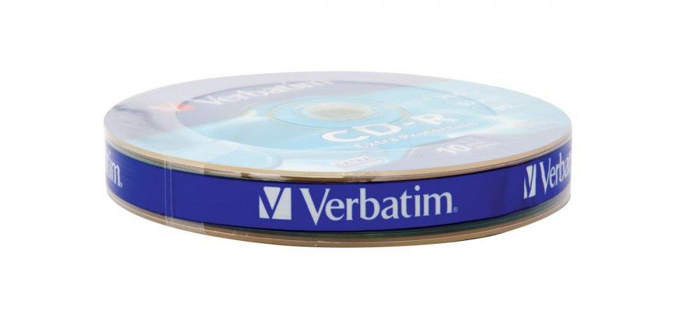 CD-R Verbatim DL 700MB (80min) 52x Extra protection 10-spindl RETAIL