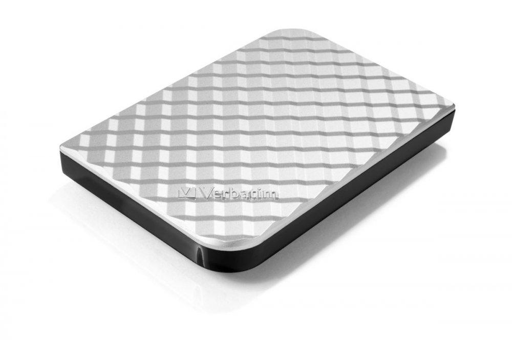 "HDD 2.5"" 1TB USB 3.0 SuperSpeed stříbrný, GEN2, Green Button, externí harddisk Store 'n' Go Verbatim"
