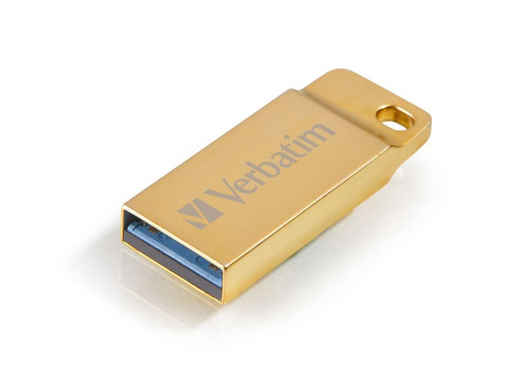 64GB USB Flash 3.0 METAL EXECUTIVE zlatý Verbatim P-blist