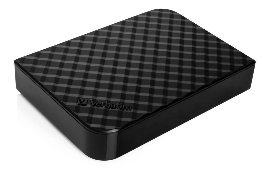 "HDD 3.5"" 4TB USB 3.0 černý, GEN2, Green Button, externí harddisk Store 'n' Save Verbatim"
