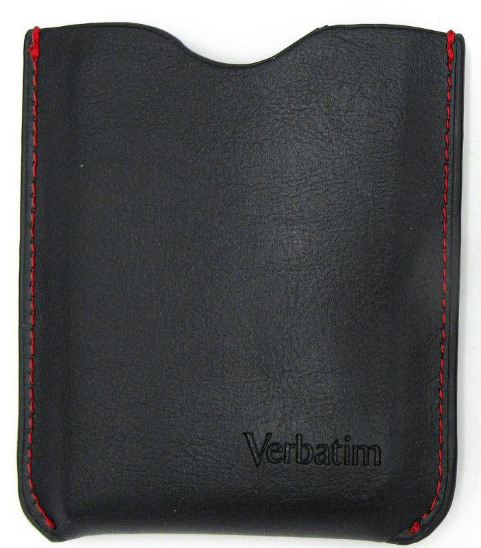 """Verbatim Store 'n' Go koženkové pouzdro na 2,5"""" HDD, černé"""