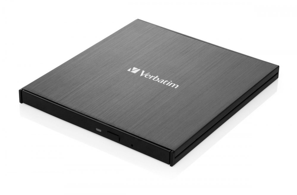 DVD/CD Externí Slimline vypalovačka, USB-C 3.2, černá, Verbatim