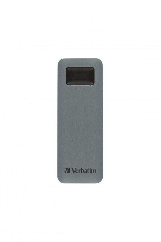Verbatim SSD 512GB disk USB 3.2 GEN1, USB-C, externí Executive Fingerprint Secure Disk