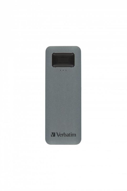 Verbatim SSD 1TB disk USB 3.2 GEN1, USB-C, externí Executive Fingerprint Secure Disk