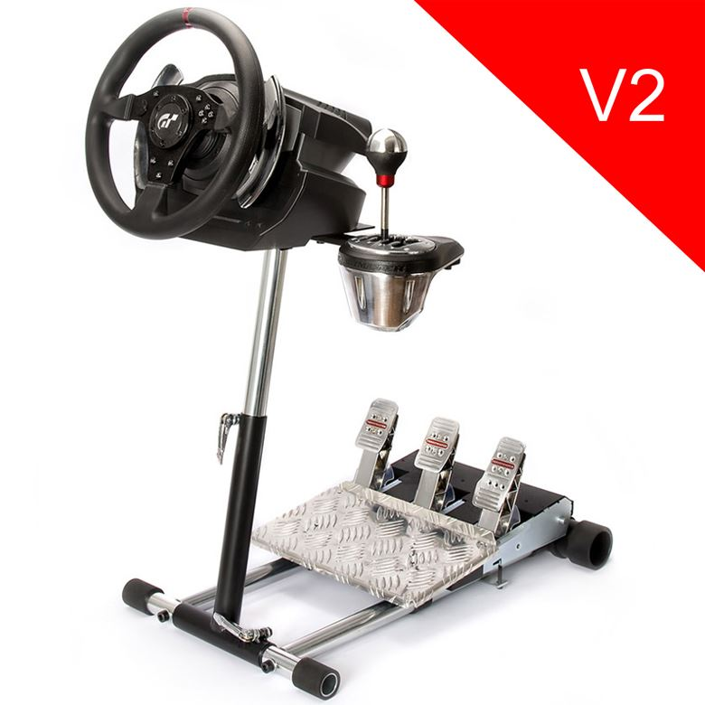 Wheel Stand Pro DELUXE V2, stojan na volant a pedály pro Thrustmaster TS-PC/T-GT/TS-XW/T150 Pro