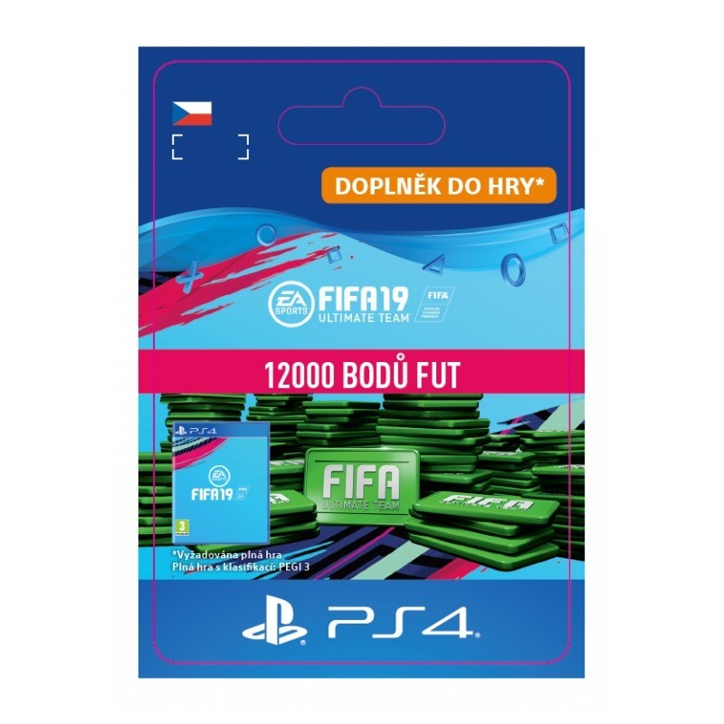 CZ PS4  12000 FIFA 19 Points Pack