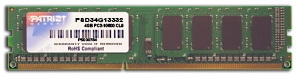 Patriot 4GB 1333MHz DDR3 CL9 DIMM
