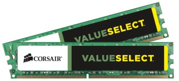 Corsair 8GB (Kit 2x4GB) 1600MHz DDR3 CL11 DIMM