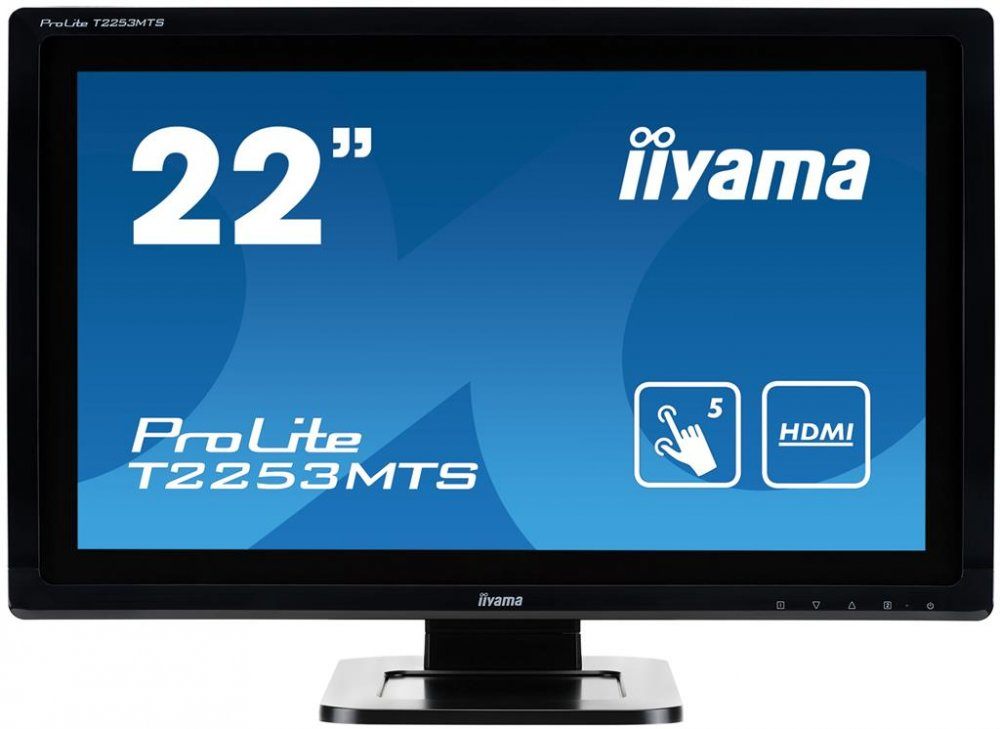 LCD 21.5'' Prolite T2253MTS-B1, Touchscreen, Full HD, DVI, HDMI, USB, black