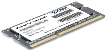 Patriot 8GB Ultrabook Line 1600MHz DDR3 CL11 SODIMM, pre Ultrabooky